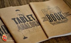 """Los dos diseños de estas SmithBooks, o """"tablet análogas"""" :)"""