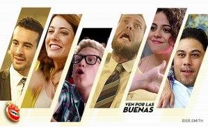 Tres diferentes historias, en esta campaña de TV creada en SrS para Las Alitas